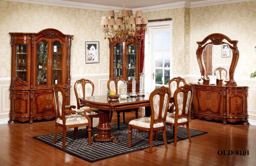 d4a33998c169 Štýlová obývacia izba 8101 ( Kategória  Štýlový nábytok - Vitríny